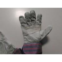 Предпазни велурени ръкавици с пет пръста